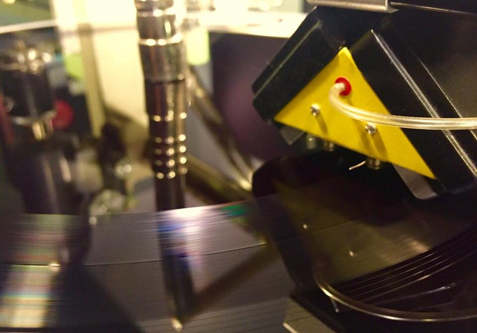 vinyl production cutting head
