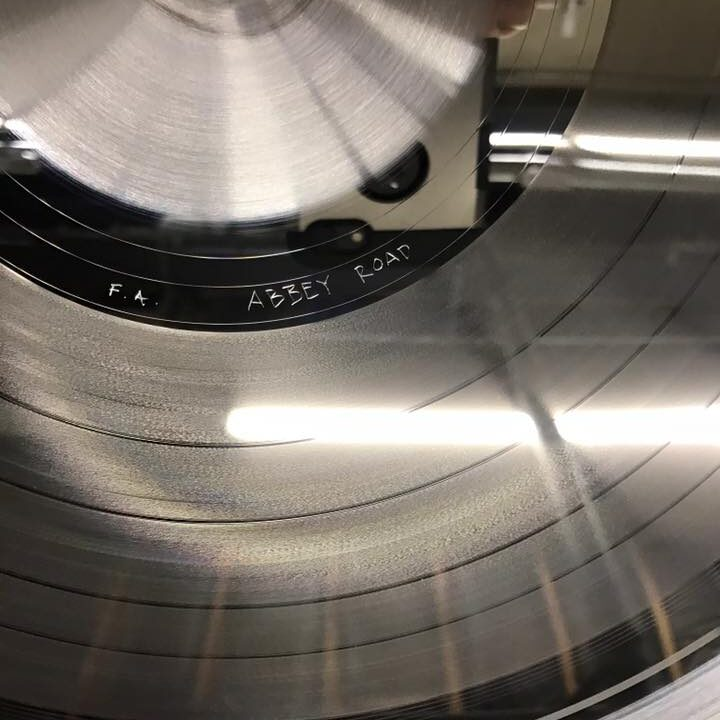 vinyl production abbey road stamper